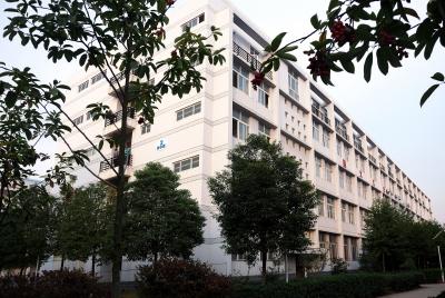 江汉大学文理学院校园一角