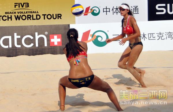 沙滩排球 三亚公开赛 张常宁 马圆圆晋级