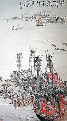 上海中国画院举行藏画展