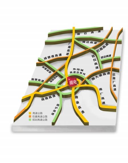 南充高速公路规划图_最新四川省高速公路网布局规划图南充论坛