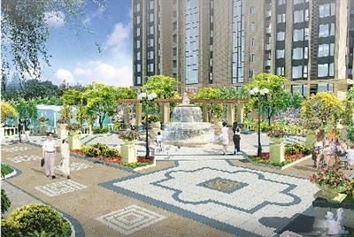 小学校园绿地花池设计