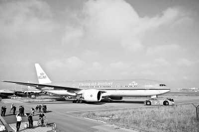 """荷兰航空""""地沟油""""飞机首飞洲际航线"""