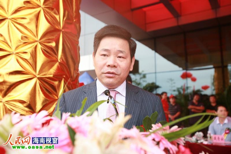 雨润控股集团董事局主席祝义才仪式上致辞