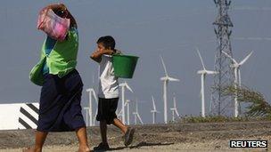 墨西哥通过立法设定了可再生能源推广目标。(自路透社)