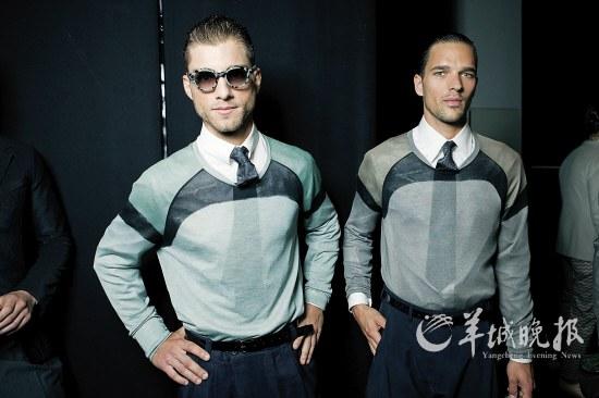 衬衫领带亦时尚.普通八字领