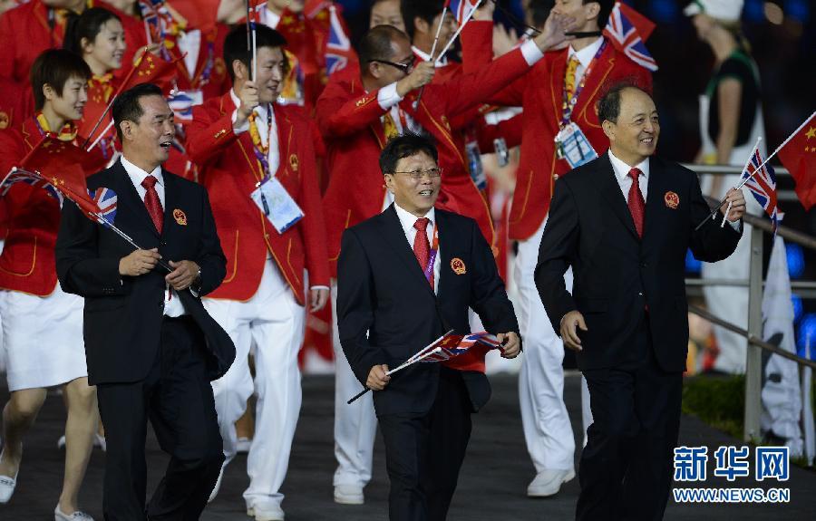 7月27日,第三十届夏季奥林匹克运动会开幕式在伦敦奥林匹克公园主图片
