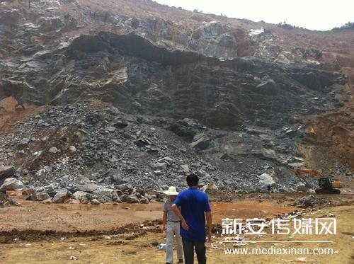 繁昌县一家石灰石矿坍塌 发现第二位工人尸体