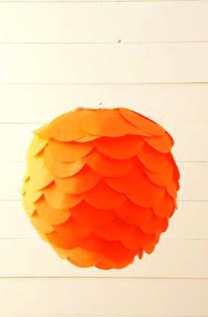 纸灯笼的做法步骤图解