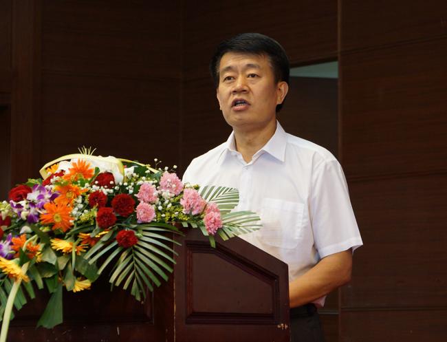 集团公司董事长 党委书记刘建中致辞