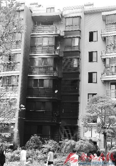小区楼房立面手绘图