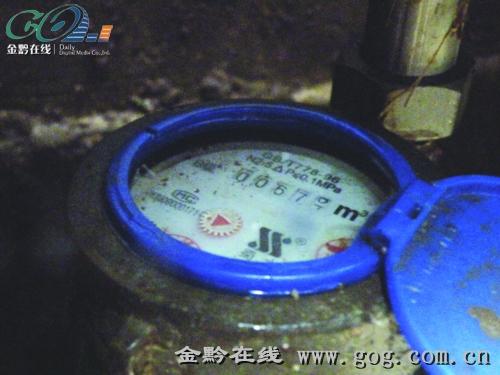 住户对400吨水有疑问,水务公司表态 水费有争议,水表可送检