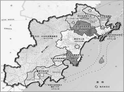 青岛西海岸经济新区地图
