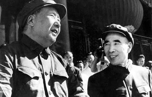 毛泽东 林彪/毛泽东和林彪(资料图)