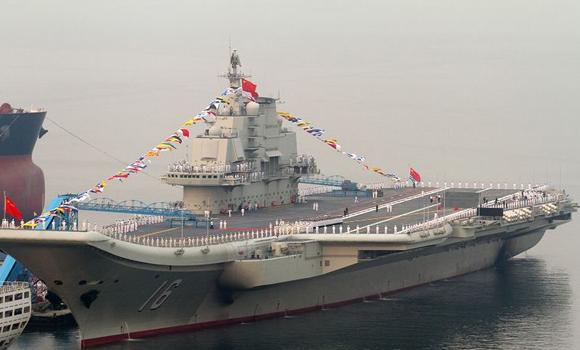 资料图:中国首艘航母平台