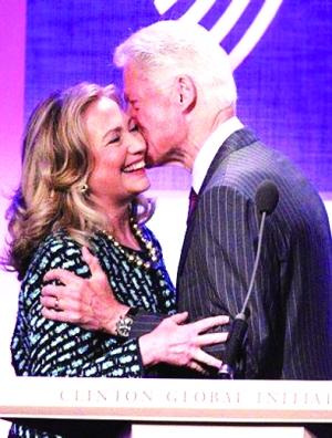克林顿与希拉里年轻照片很漂亮 克林顿年轻照片 克林顿年轻时高清图片