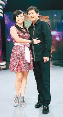 熊天平甩肉20kg 与妻子杨洋回台上节目大秀甜