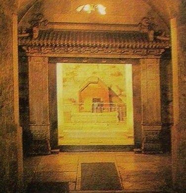 乾陵地宫(资料图)
