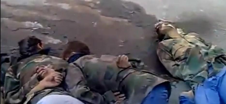 叙利亚反对派处决政府军士兵