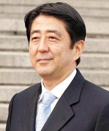 日本自民党总裁安倍晋三