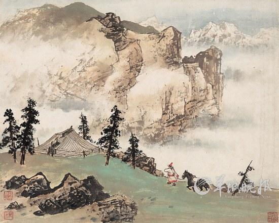 祁连牧居 关山月 展厅新论 10月25日,纪念关山月100周年诞辰艺术展在广州美院美术馆开幕。展览前言说:关山月是在20世纪中国美术的现代化进程中作出卓越贡献并产生重大影响的杰出中国画家。从关山月诞生到今天,整整100年过去了,这100年在中国绘画史上占据特殊位置。经过梳理,我们发现,百年后,以关山月为代表的数代中国画画家,业已形成新的国画传统。这一传统的凝成过程及目的旨归,与国画现代化这一关键词息息相关。考察以关山月为代表的几代画家其百年艺术历程,或可窥见国画现代化的得失与兴衰。 张演