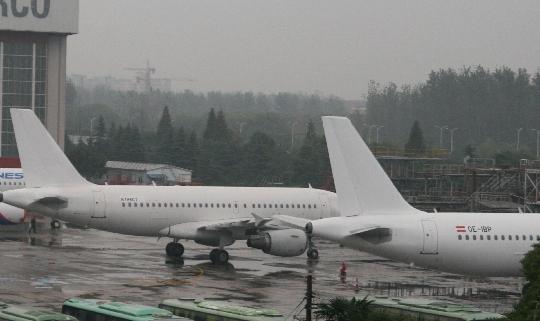 东航空客a319型飞机