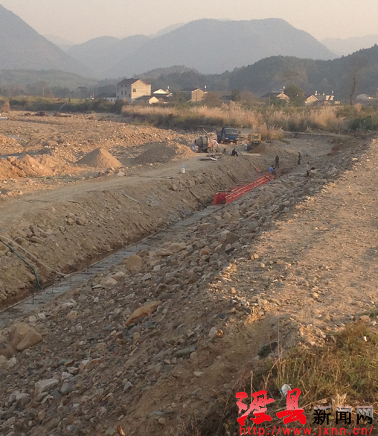 泾县茂林镇修建十里古堤启动工程(图)乌鲁木齐日租房别墅图片