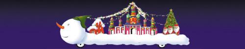 靓!6辆欧式花车圣诞巡游沈城街头图片