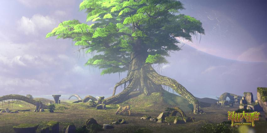 动画电影《绿林大冒险》场景剧照欣赏