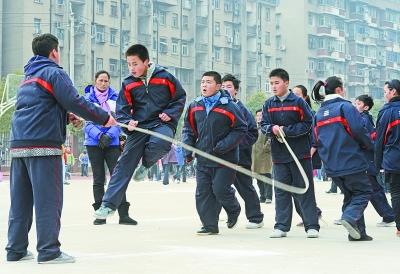 图解小学生跳绳技巧