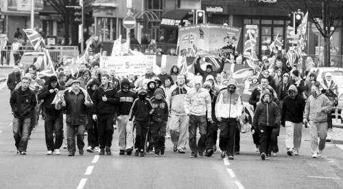 国旗事件引发北爱尔兰最严重骚乱