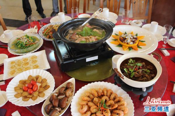 2013山东农垦美食节启动将评名菜十大美食的农垦海南过年年夜饭图片