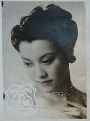 30年代老上海美女明星写真照