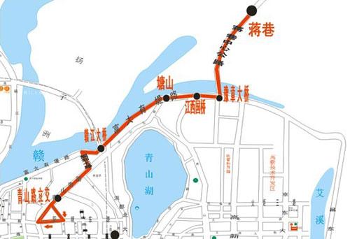 237路公交调整后运行路线图-明日起南昌237路公交调整运行路线 始发