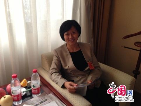 全國人大代表、廣東省惠州市旅遊局局長黃細花