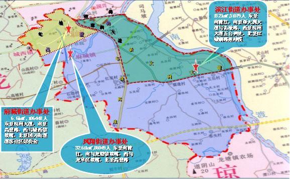 青岛崂山行政地图2017