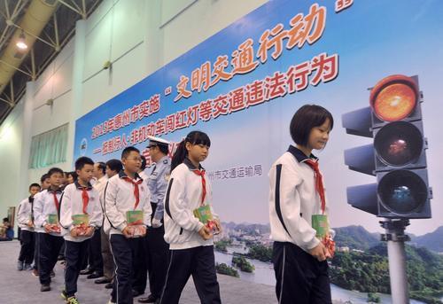 惠州5月1日起将对行人闯红灯进行处罚