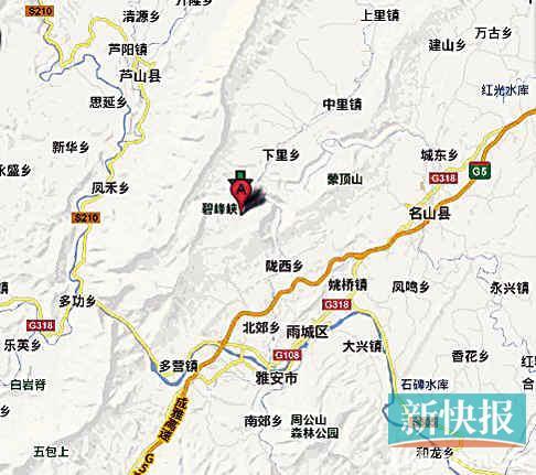 川地震摧毁卧龙基地 熊猫被转移到雅安又遇地震高清图片