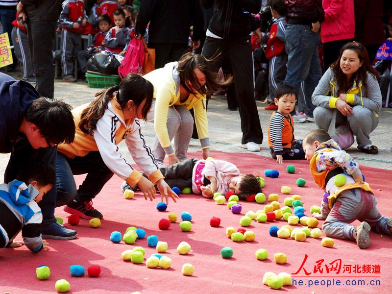 """幼儿园庆""""五一""""亲子运动会(组图)"""