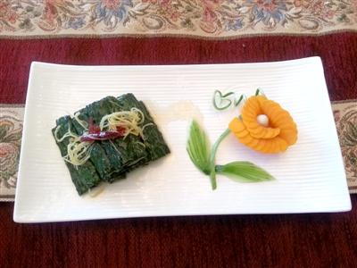 萝卜雕花菜