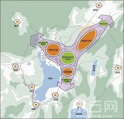 空港经济区规划图.资料图