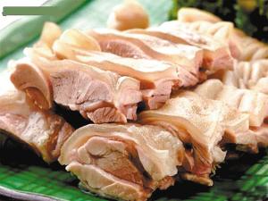 生涮带皮羊肉