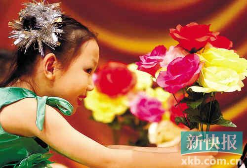 广州市天河区华景陶然幼儿园大二班的小朋友在