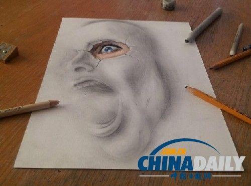 铅笔画动物的步骤图解