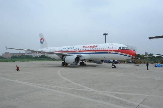 其中在空中客车a320系列飞机上加装elt应急定位发射机,对飞机43框中央