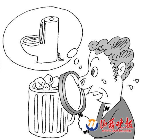 块脏过马桶水(图)