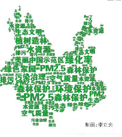 云南开启生态文明建设大幕 建设美丽中国示范区