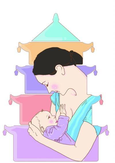 """婴幼儿也有""""膳食宝塔"""""""