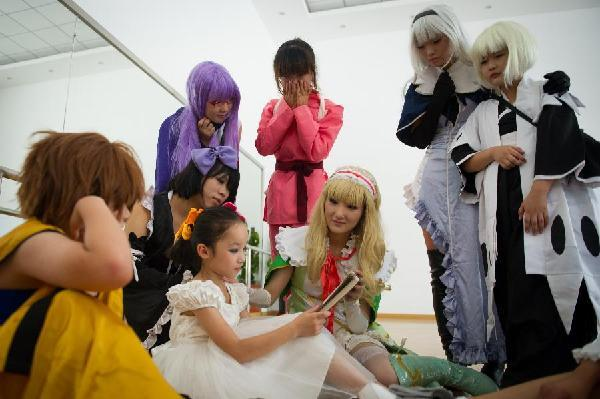 """cosplay真人秀""点亮儿童快乐假期"