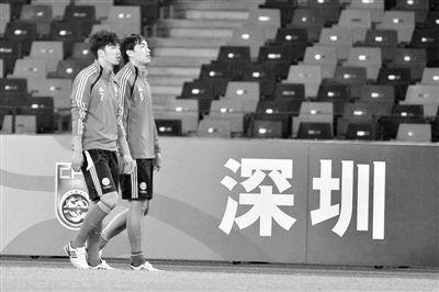 赵旭日(左)和冯潇霆(右)无缘本届国家队。 资料图片/Osports