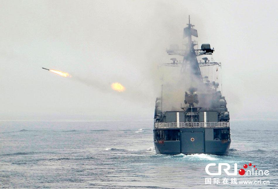 中俄海上联合 2013联合军事演习落幕(高清组